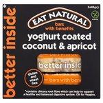 Eat Natural Gluten Free Coconut, Apricot, Yoghurt Bars