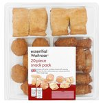 Essential Waitrose Snack Pack 20 Piece