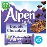 Alpen Light Bars Double Chocolate