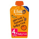 Ella's Kitchen Organic Bananas, Apricots & Baby Rice