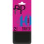 Pretty Polly 40 Denier Opaque Tights 2PP Black S / M