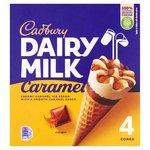Cadbury Dairy Milk Caramel Cones