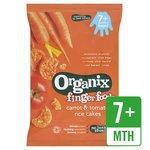 Organix Carrot & Tomato Rice Cakes