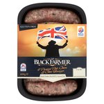 The Black Farmer Premium Pork, Onion & Chive Sausages