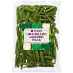Ocado British Unshelled Garden Peas