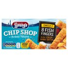Young's Chip Shop 8 Fish Fingers in Crispy Batter