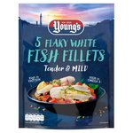 Young's 5 White Fish Fillets Frozen