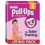 Huggies Pull Ups Small Pink Disney Design Economy Pack