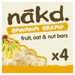 Nakd Wheat & Dairy Free Banana Bread Multipack