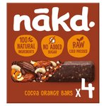 Nakd Free From Cocoa Orange Multipack