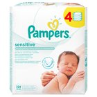 Pampers Sensitive Baby Wipes 4 x 56 per pack