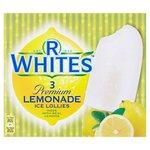 R Whites Premium Lemonade Ice Lollies