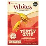 White's Toat'ly Oaty Porridge Original - Sachets