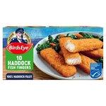 Birds Eye 10 Haddock Fish Fingers Frozen