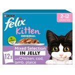 Felix Kitten Fish & Meat Pouch Selection