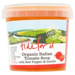 Tideford Organic Italian Tomato Soup with Red Pepper & Lentils