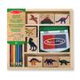 Melissa & Doug Dinosaur Stamp Set 4+