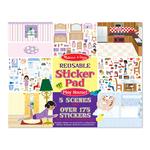 Melissa & Doug Reusable Sticker Pad PlayHouse 3+