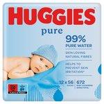 Huggies Pure Baby Wipes Big Pack