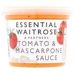 Essential Waitrose Tomato & Mascarpone Sauce