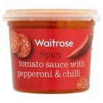 Waitrose Pepperoni Pasta Sauce