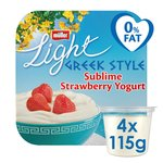 Muller Light Greek Style Strawberry Yoghurt