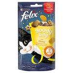Felix Goody Bag Cat Treats Cheezy Mix