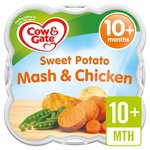 Cow & Gate Sweet Potato Mash with Chicken Steamed Meal
