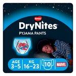 Huggies 3-5 years DryNites Pyjama Pants Spiderman
