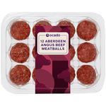 Ocado Exclusive 12 Angus Beef Meatballs