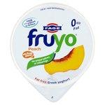 Fruyo Real Greek Fat Free Peach Yoghurt