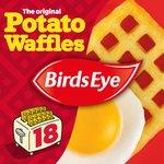 Birds Eye 18 Potato Waffles Frozen