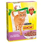 Go-Cat Complete Adult with Chicken, Duck & Rabbit
