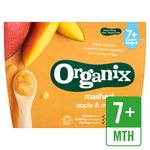 Organix Textured Fruit Pot Mashed Apple & Mango Stage 2