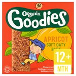 Organix Goodies Apricot Cereal Bar Stage 4