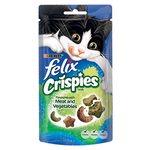 Felix Crispies Cat Treats Meat & Vegetables