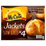 McCain 4 Ready Baked Jackets Frozen