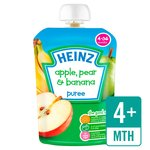 Heinz Smooth Apple, Pear & Banana 4-36 Mths