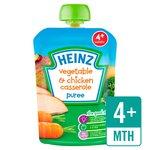 Heinz Smooth Veggie Chicken Casserole 4 Mths+