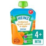 Heinz Smooth Butternut Squash, Carrot & Apple 4 Mths+