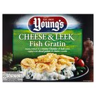 Young's Cheese & Leek Fish Gratin Frozen