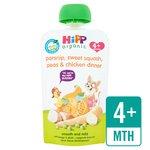 HiPP Organic Parsnip, Sweet Squash & Chicken Dinner Pouch 4+ Mths