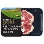 Ocado Exclusive 4 Lamb Loin Chops British